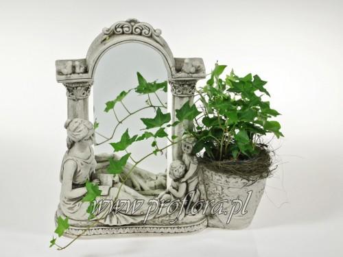 kompozycja kwiatowa lustro małe