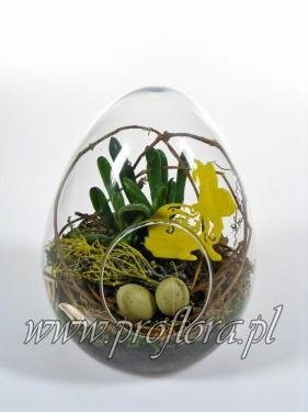 kompozycje kwiatowe jajo Wielkanocne - od producenta