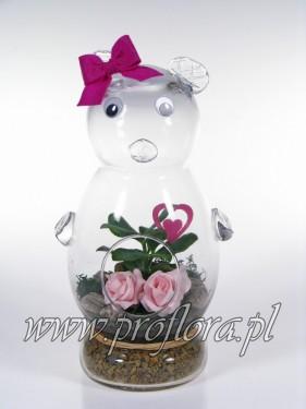 miśkur Walent kompozycje kwiatowe od Proflory